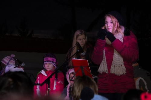 Rozsvícení vánočního stromečku 2013