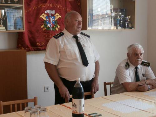Setkání zasloužilých dobrovolných hasičů ve Skalce